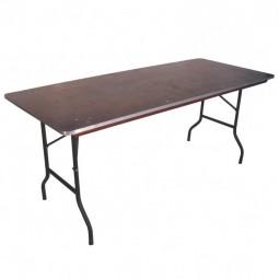Bankett-Tisch eckig 180 cm