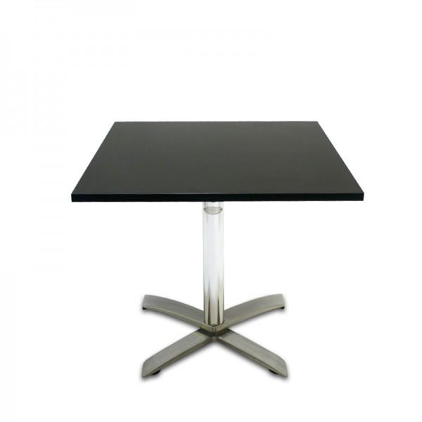 Bistrotisch Schwarz Eckig.Bistrotisch Eckig Schwarz Tische Stühle Garderobe