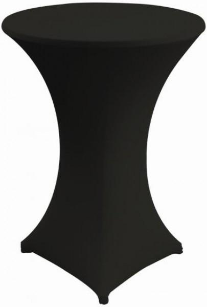 stehtisch stretch husse schwarz hussen skirtings tischw sche deko unique360event. Black Bedroom Furniture Sets. Home Design Ideas