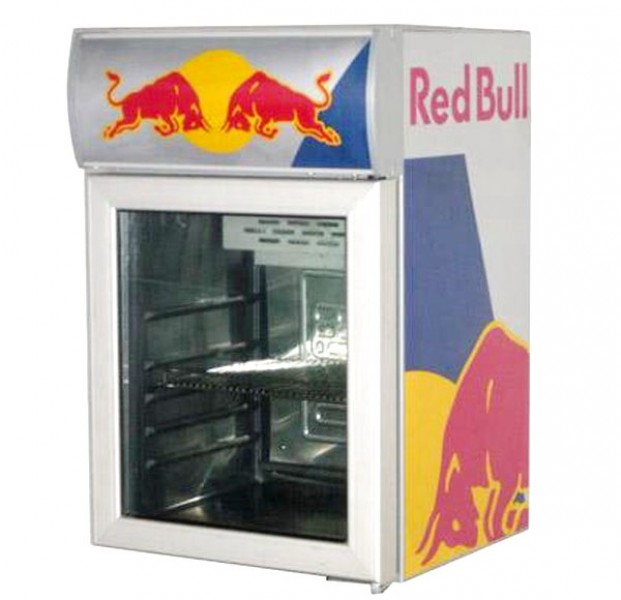 Original Red Bull Kühlschrank - Delores Curry Blog